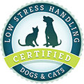 Low Stress Handling Certified Dogs & Cats