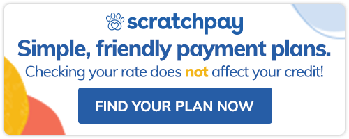 Scratchpay Simple, friendly payments plans. Checking your rates doesnt not affect your credit! Find your plan now
